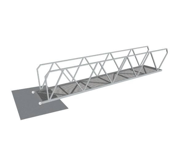 metal gangway