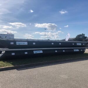 Houseboat pontoons ⌀800