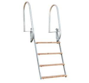Hot_dip_galvanized_ladder