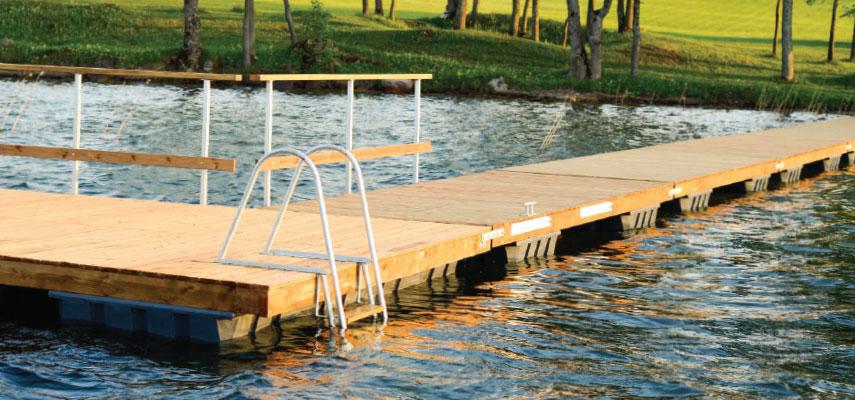 240L floats & pontoons