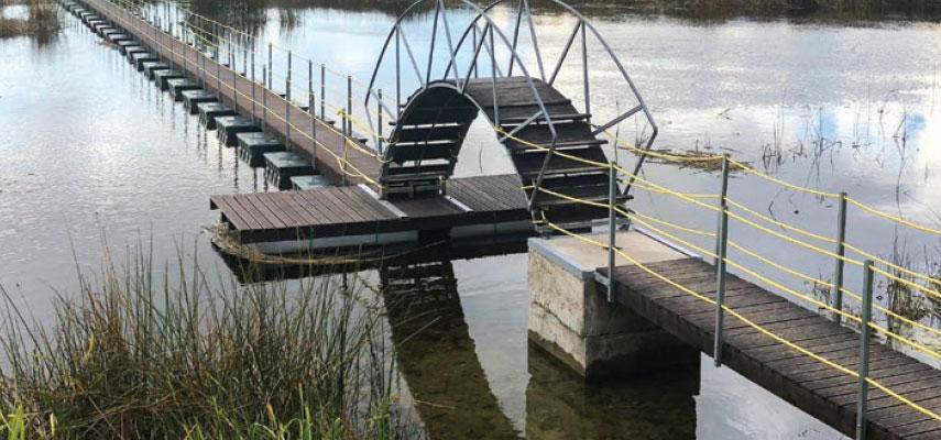 Uzejas laipas un tiltiņi
