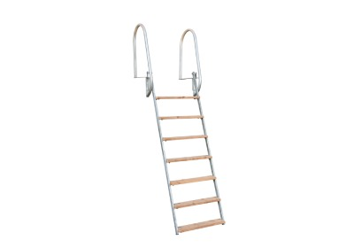Hot dip galvanized (HDG) ladders
